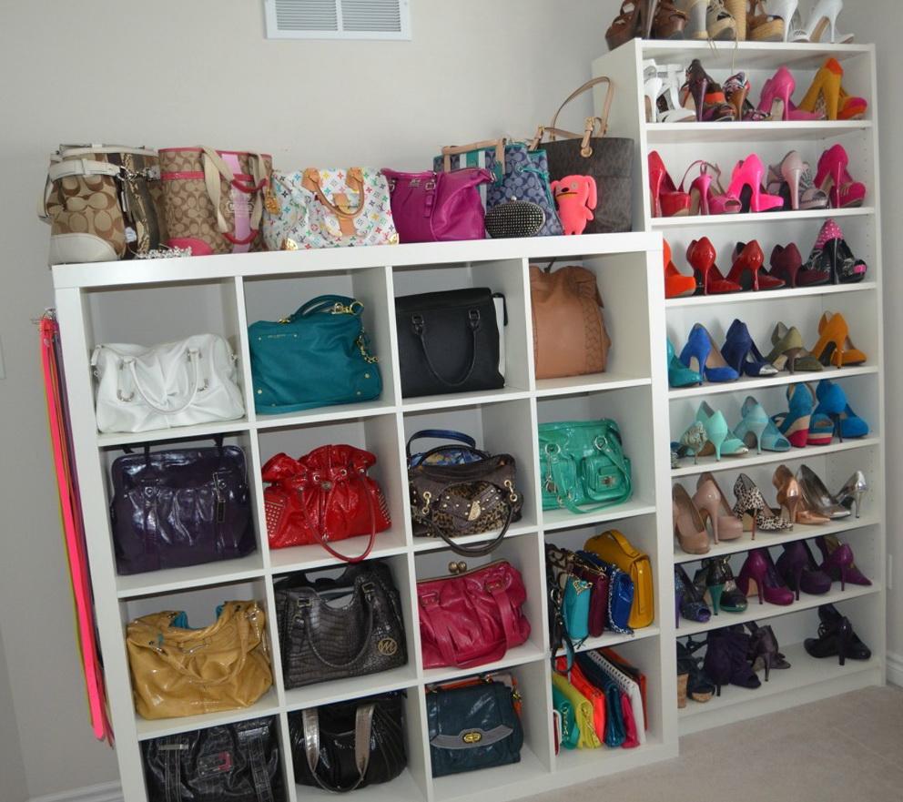 Bag Organizer For Closet