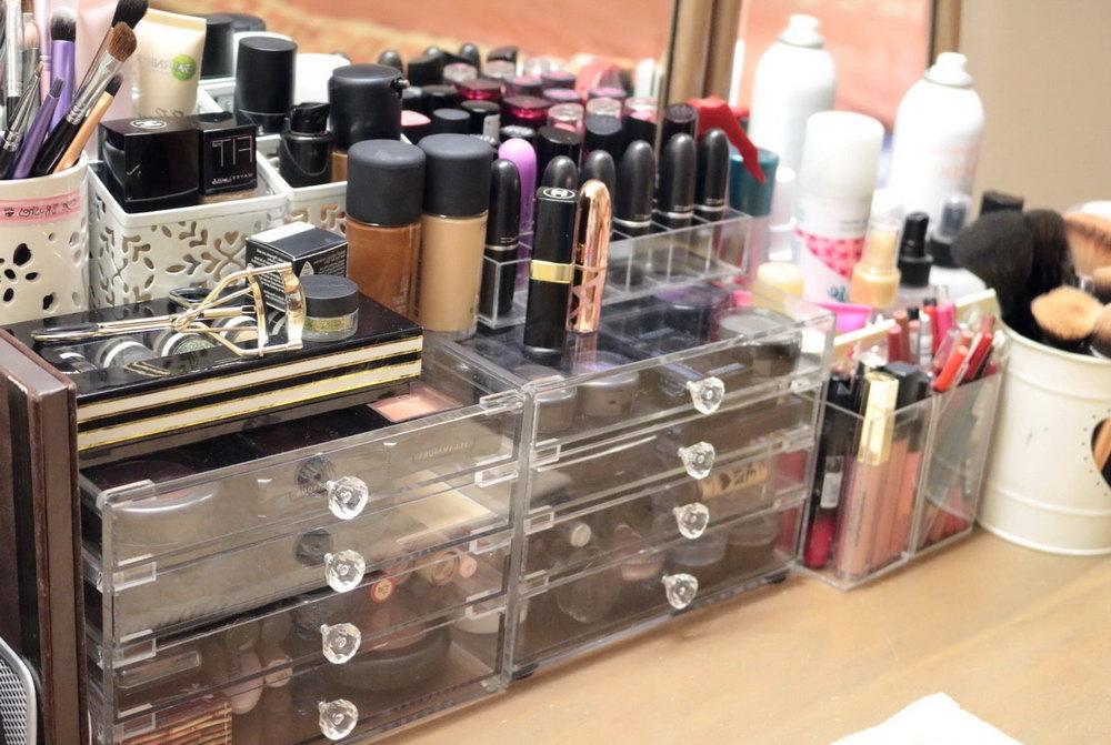 Bathroom Counter Makeup Organizer