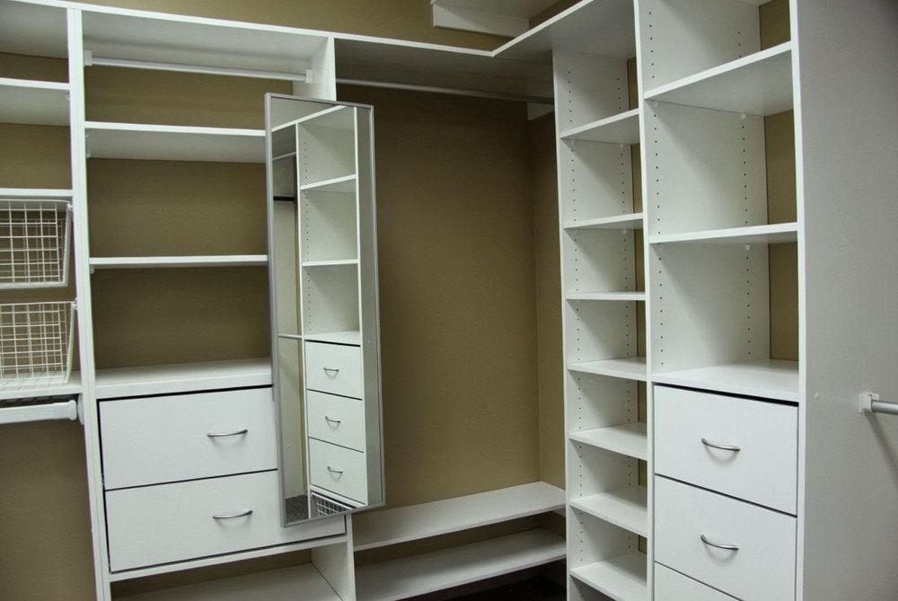 Building Closet Organizer Melamine