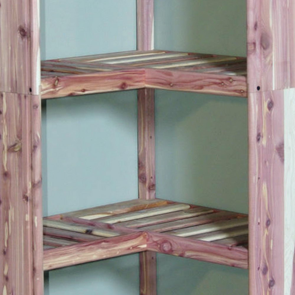 Cedar Closet Organizer System