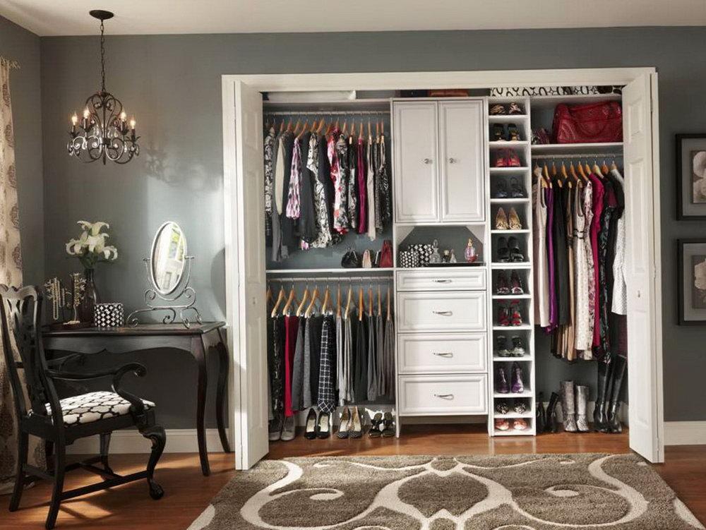 Closet Organizer For Small Walk In Closet