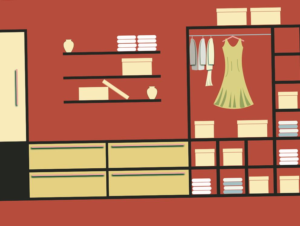 Closet Organizer Shelf Clips