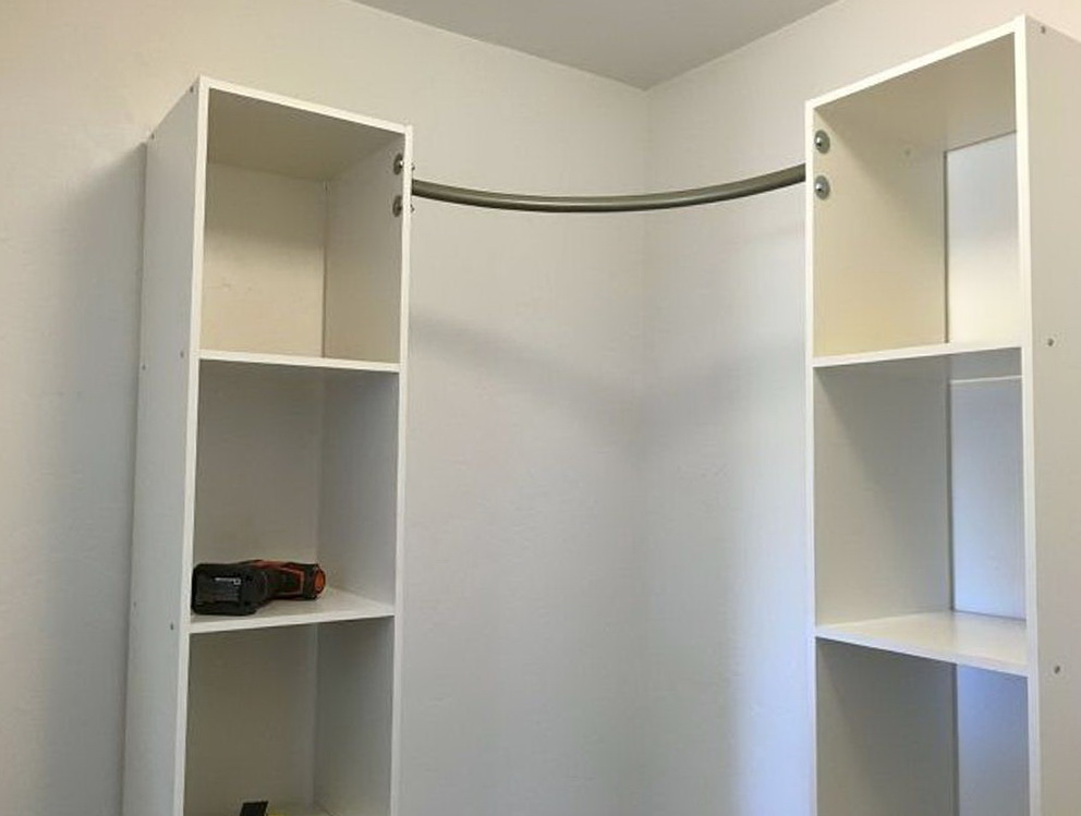 Closet Organizer Shelf Height