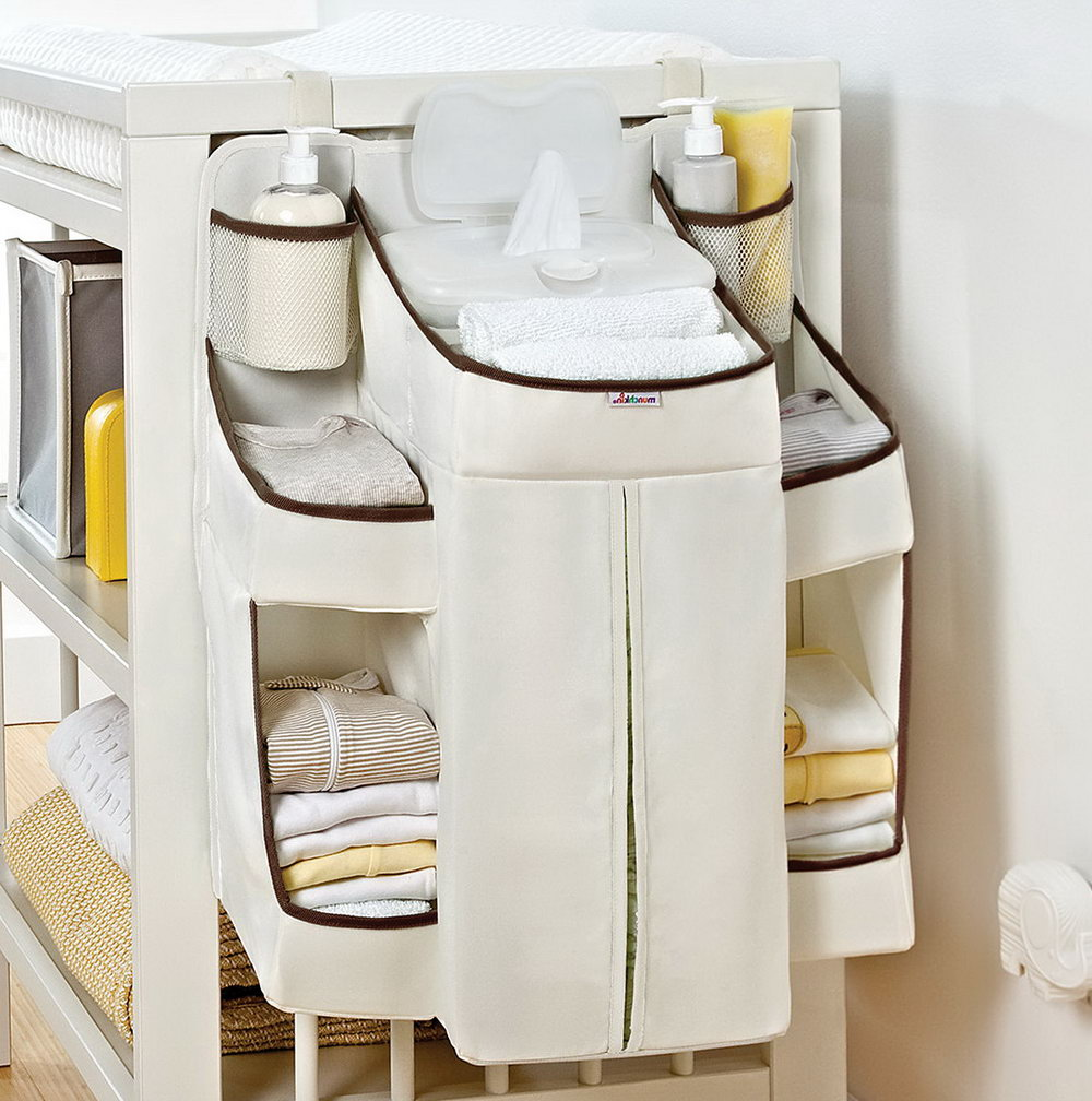 Diaper Changing Table Organizer