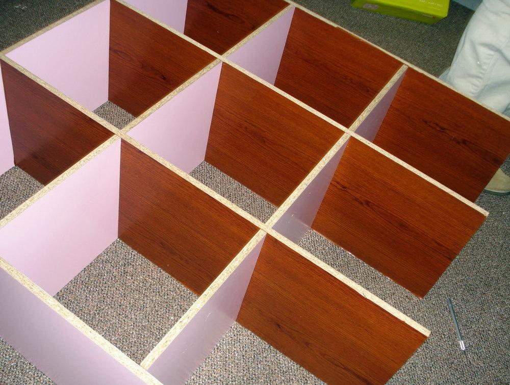 Diy 9 Cube Organizer