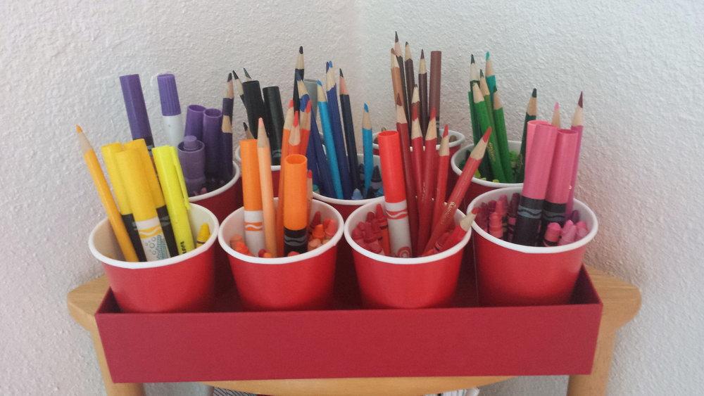 Diy School Supplies Organizer