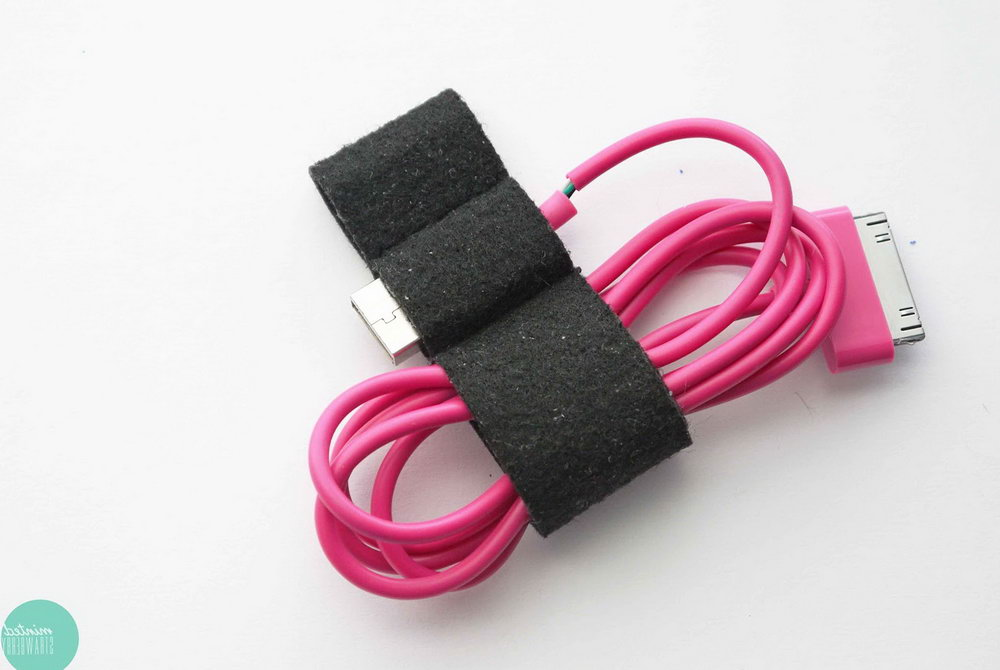 Diy Usb Cable Organizer
