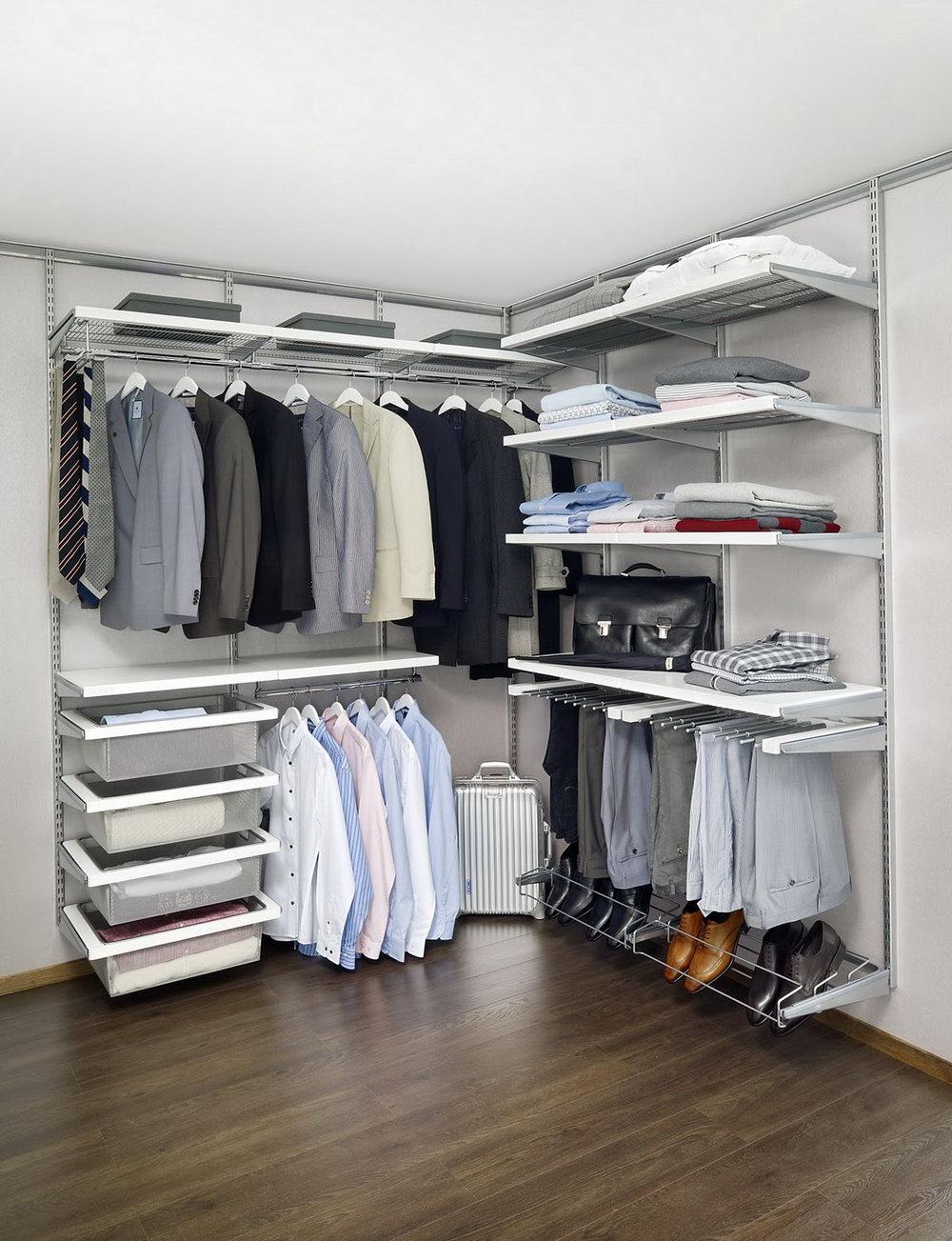 Elfa Closet Organizer System