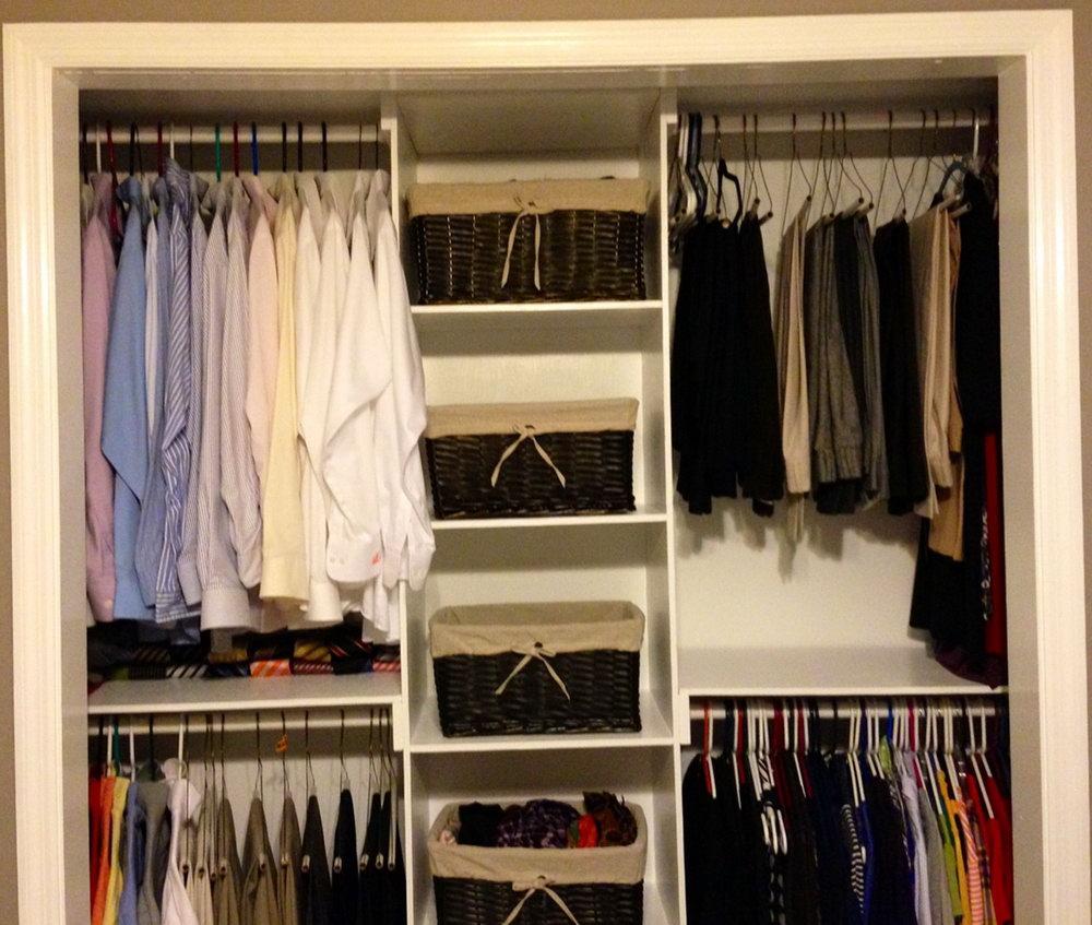 Homemade Closet Organizer Ideas