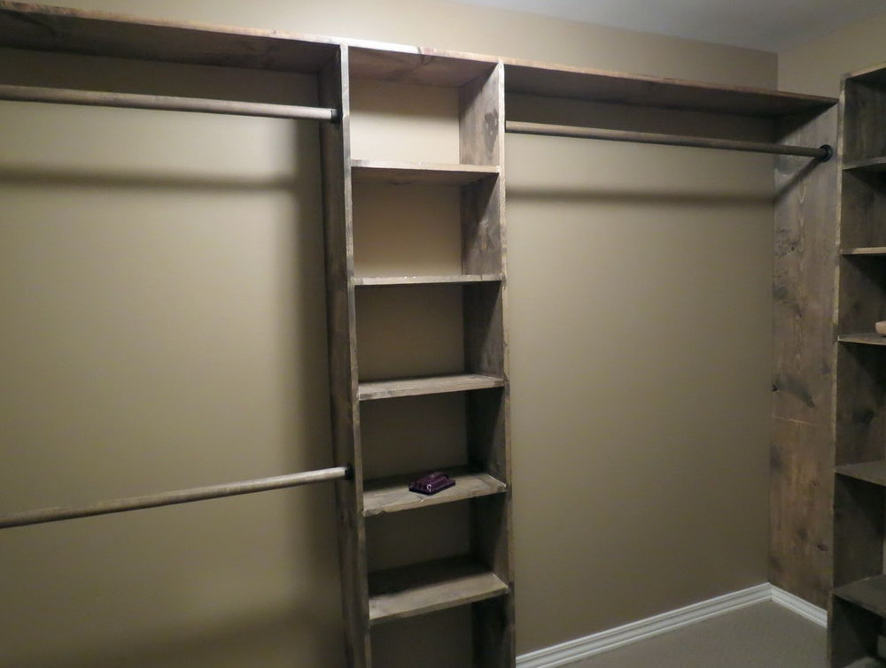 How To Build A Closet Organizer From Scratch