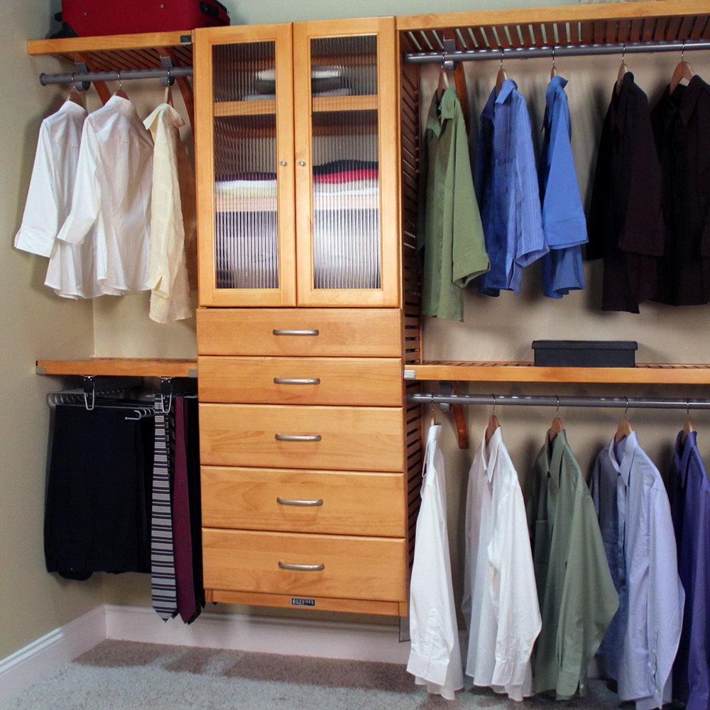 John Louis Home Closet Organizer Systems