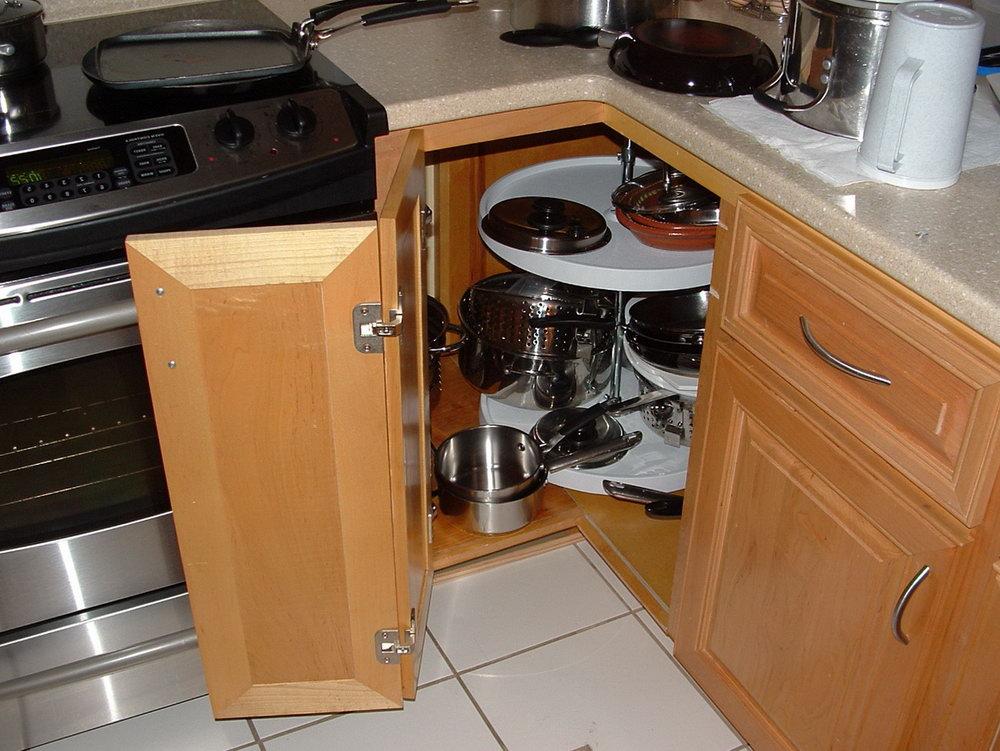 Kitchen Cabinet Door Storage Organizer