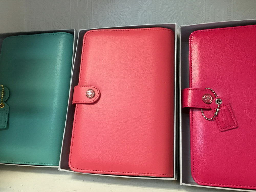 Leather Planner Binder Organizer