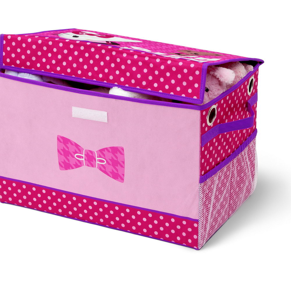 Pink And Purple Toy Organizer