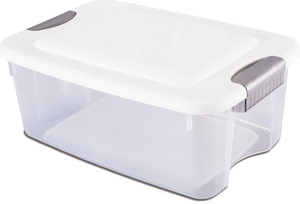 Plastic Container Lid Organizer