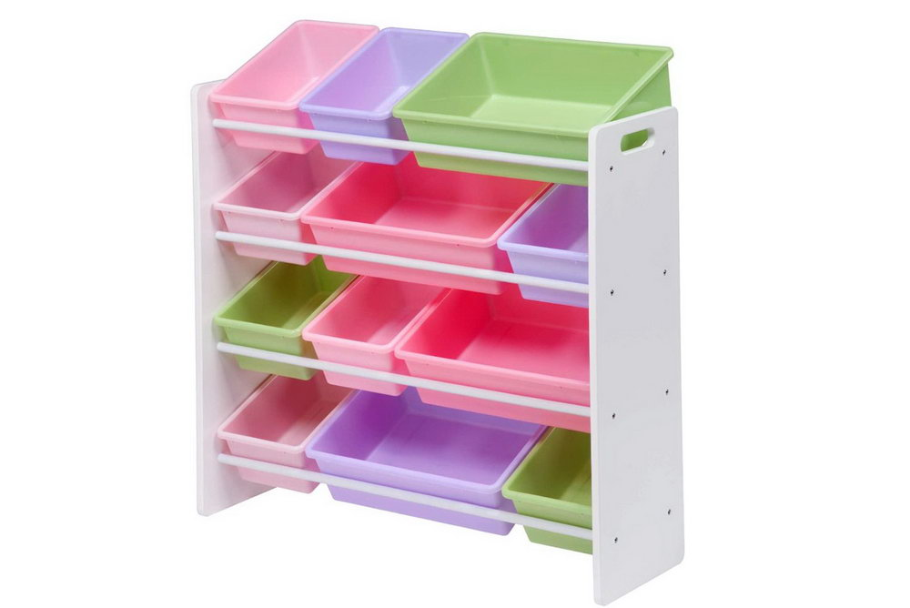 Plastic Toy Organizer 12 Bins