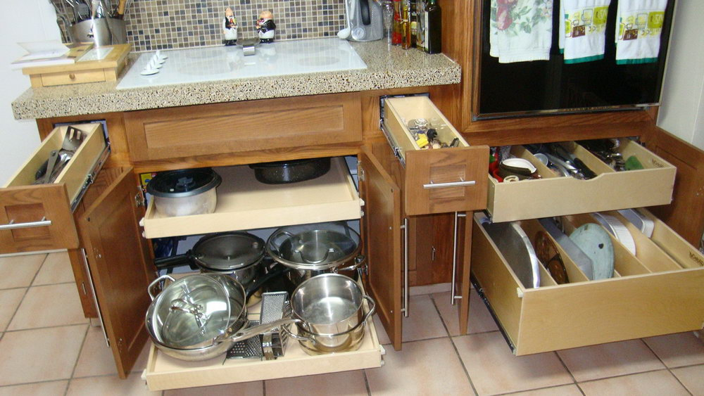 Pull Out Organizer Kitchen