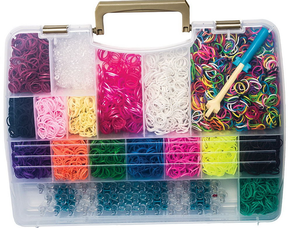 Rubber Band Organizer Box