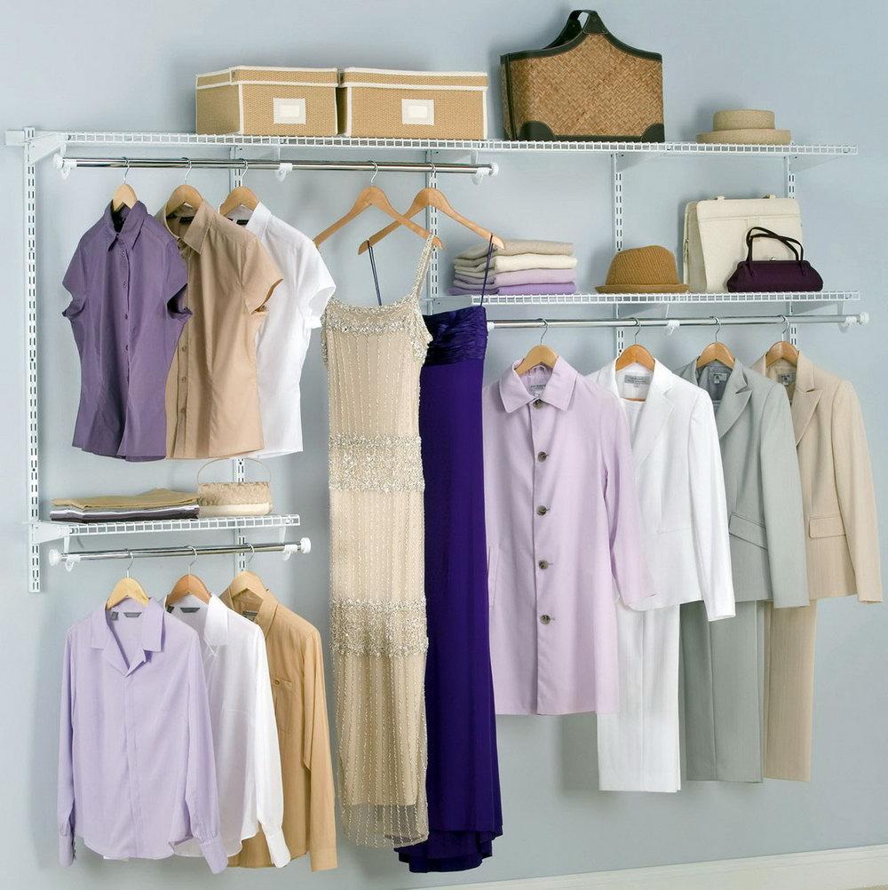 Rubbermaid Complete Closet Organizer Instructions