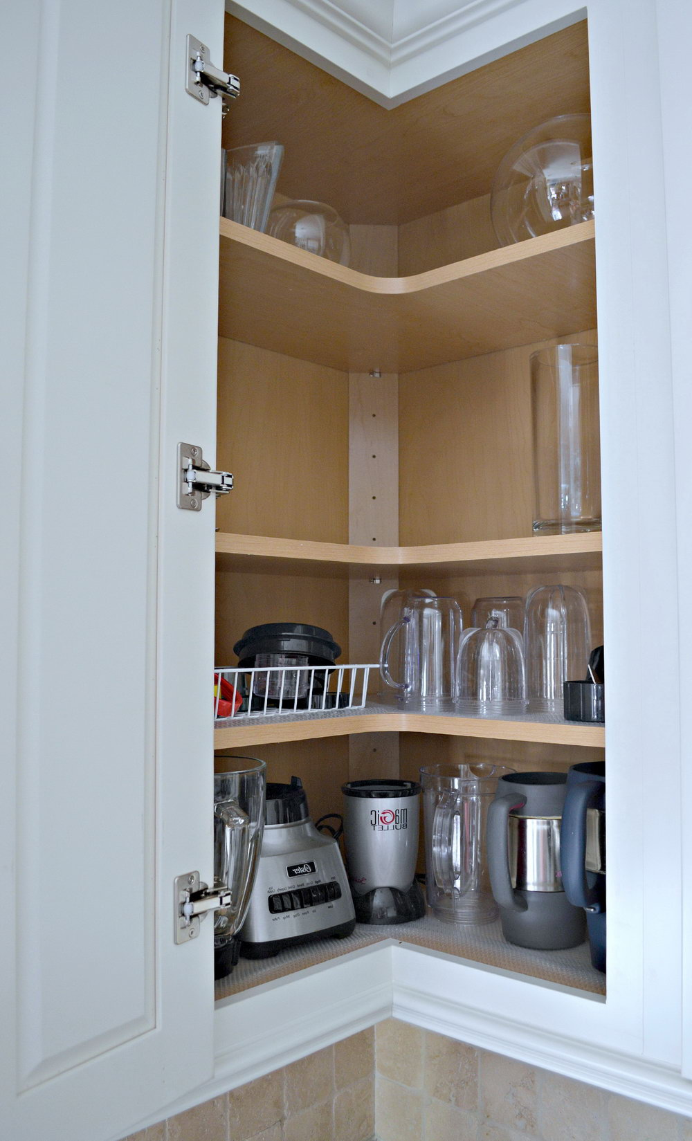 Upper Kitchen Cabinet Organizers