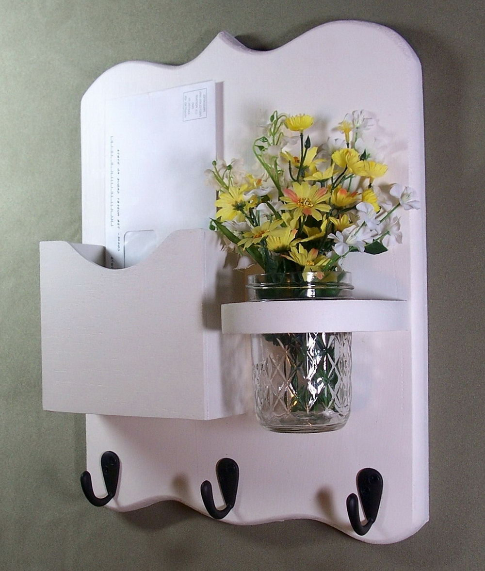White Wall Mail Organizer