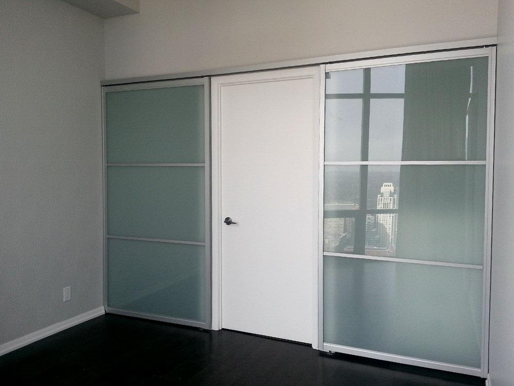 3 Door Bypass Closet Doors
