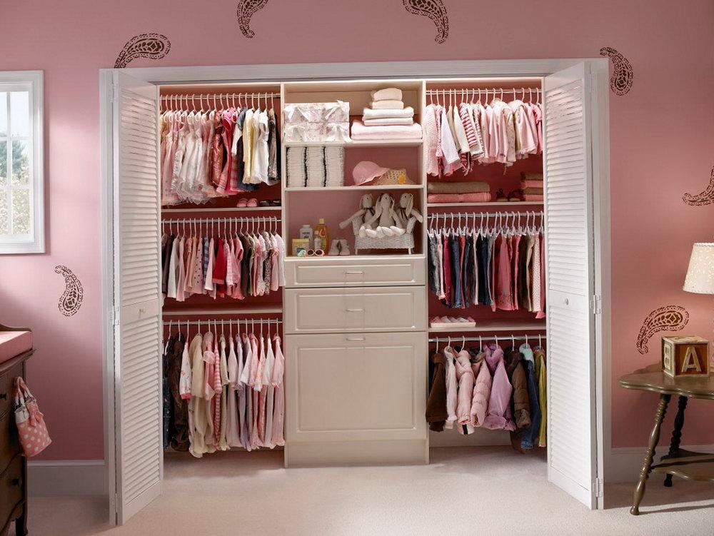 Baby Girl Closet Dividers