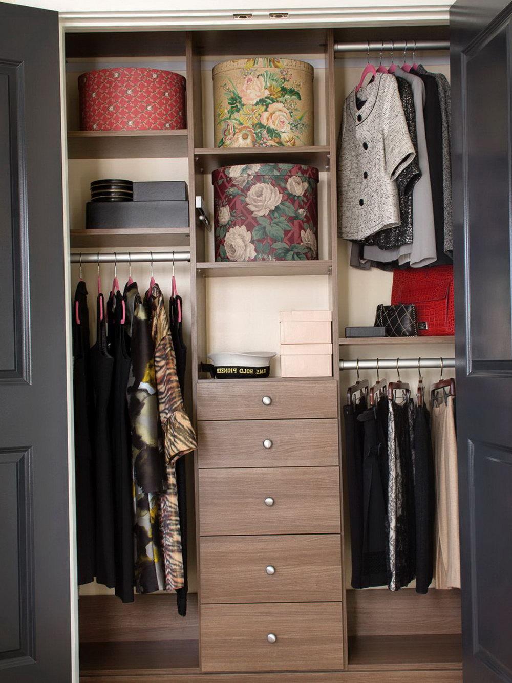 Bedroom Closet Organizer Ideas