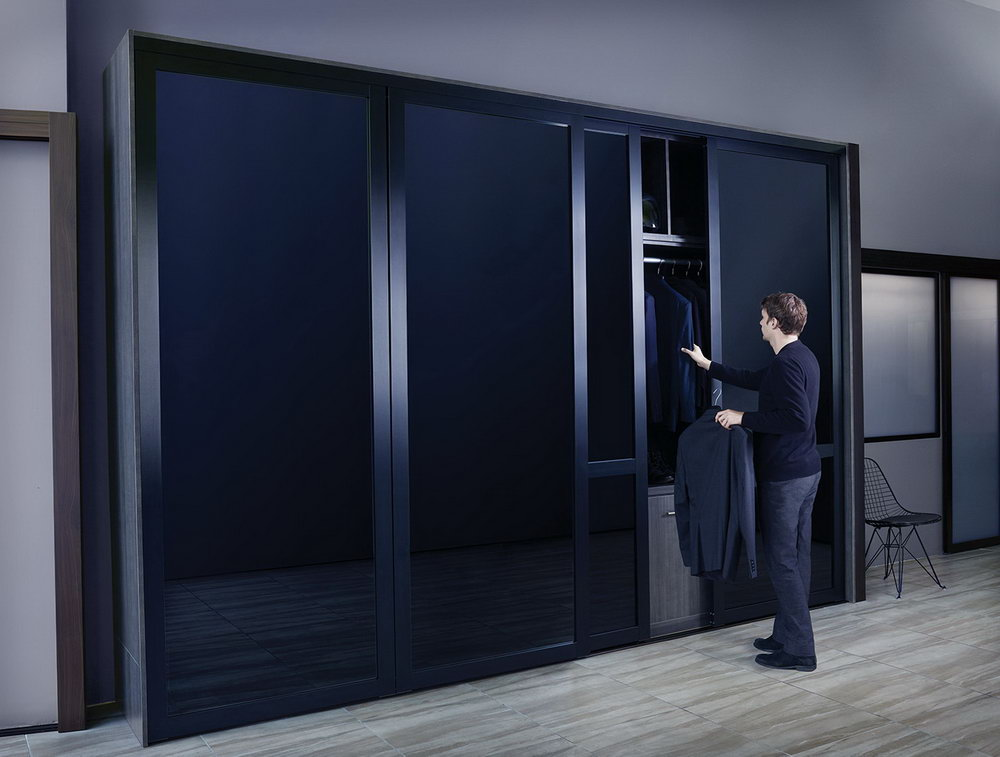 Bifold Closet Doors With Glass Inserts