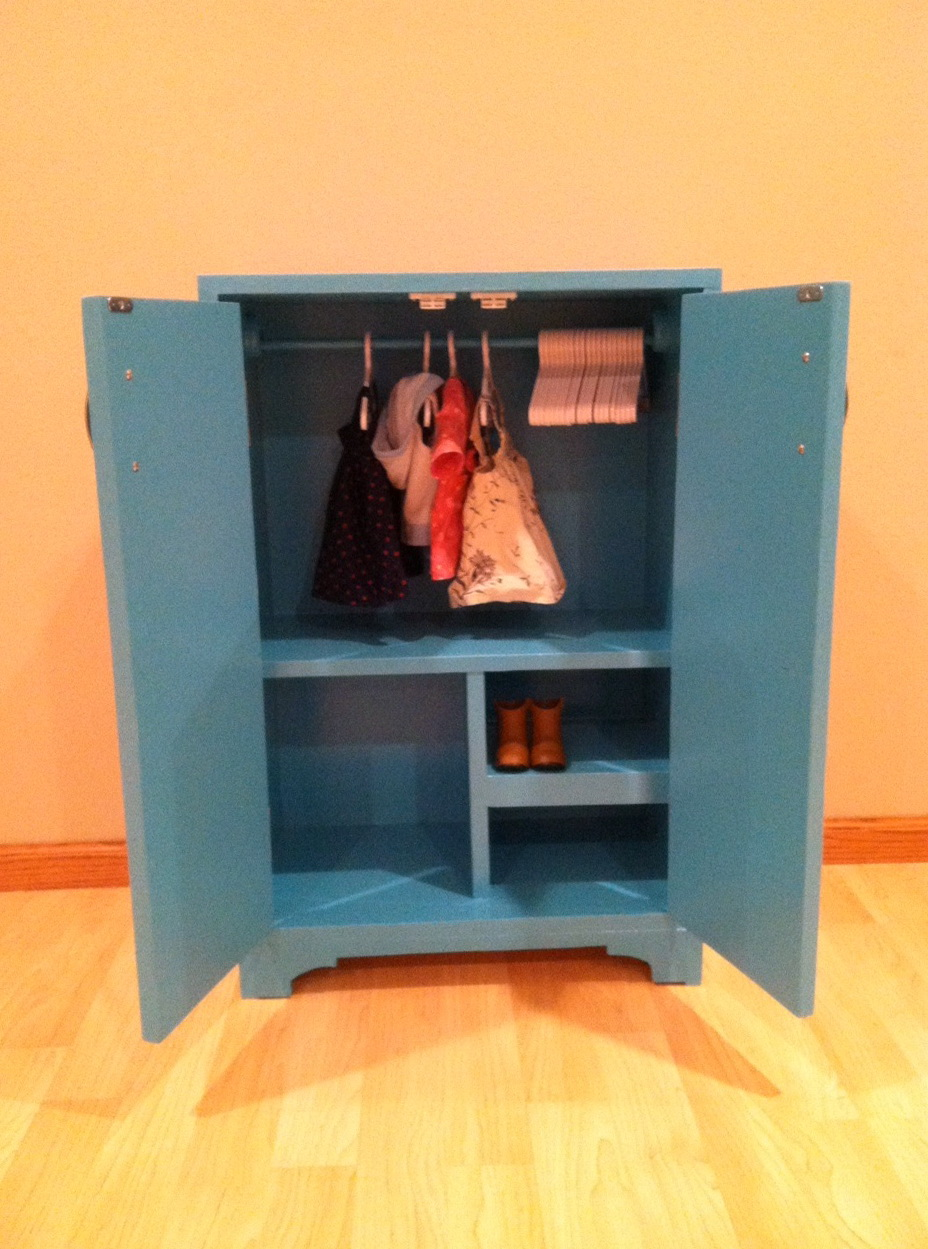 Closet For American Girl Doll Clothes