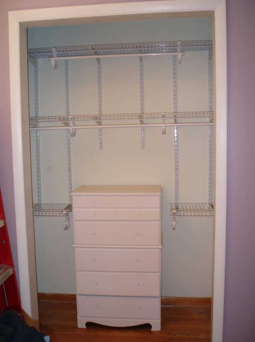 Closet Maid Shelving System