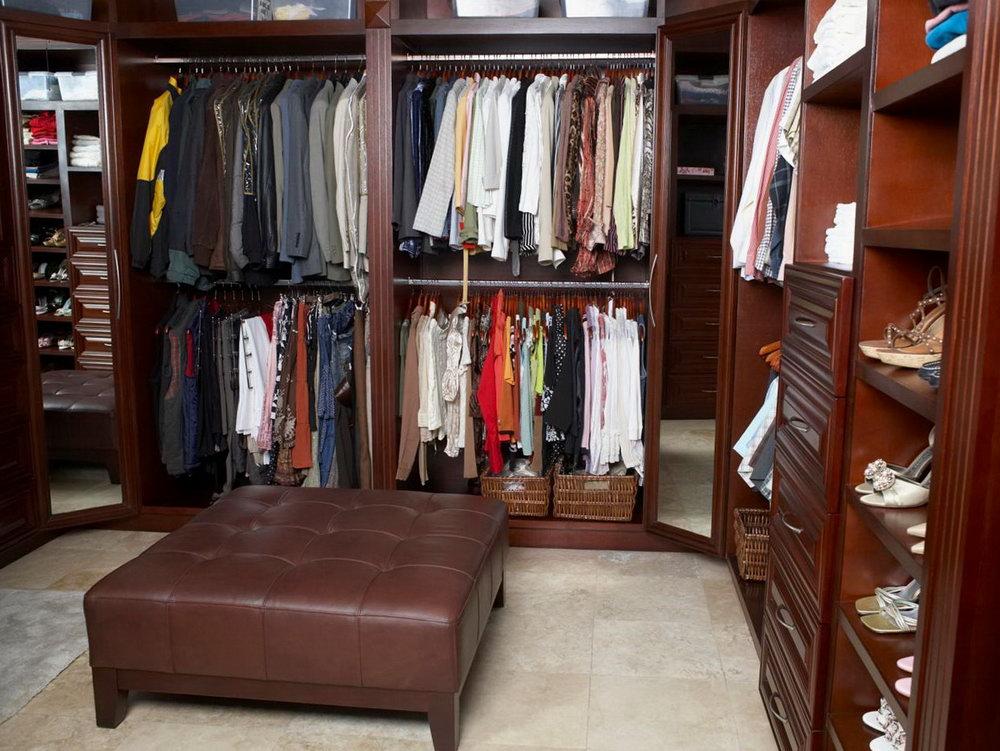 Closet Organization Ideas For Walk In Closets