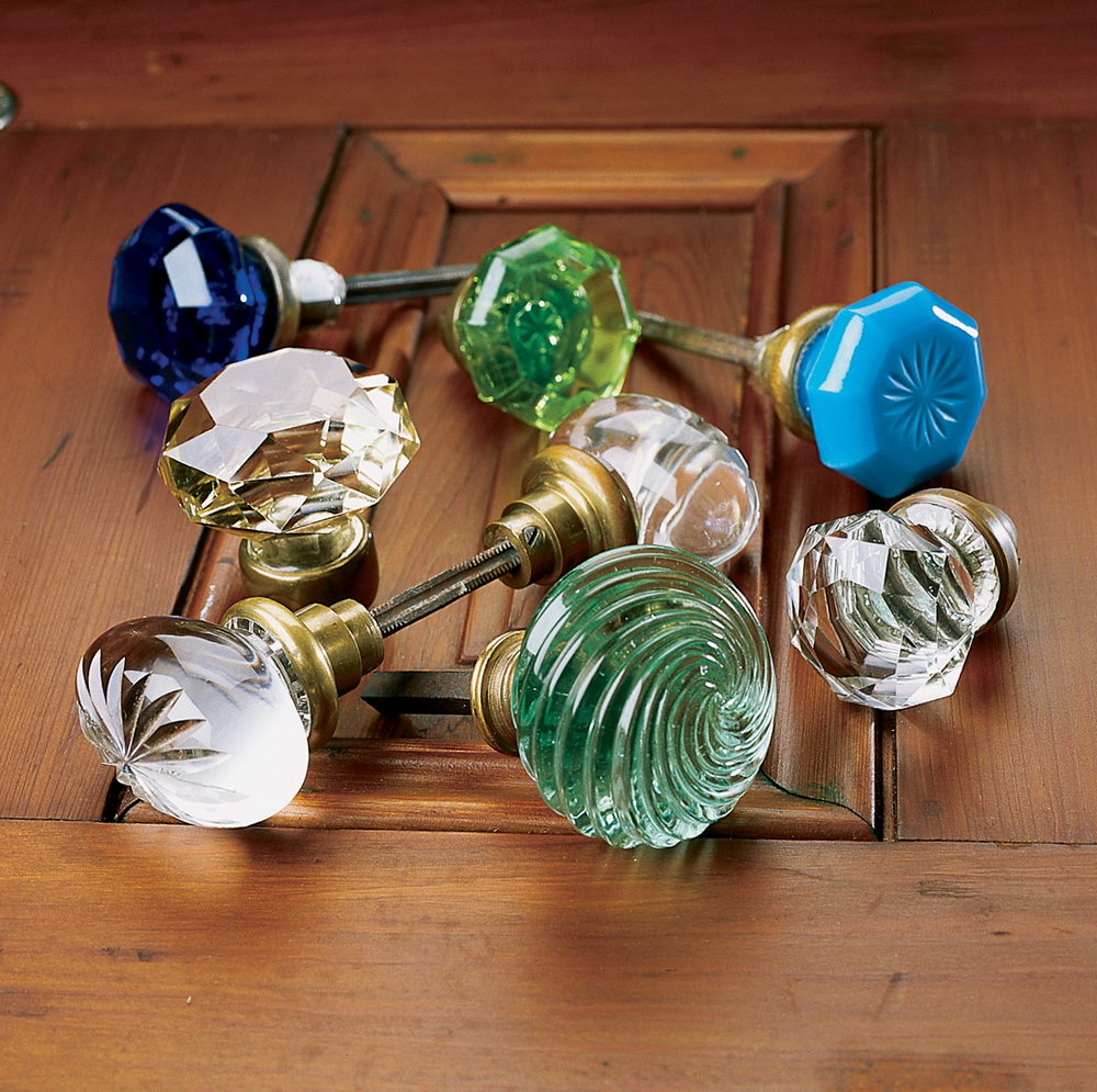 Crystal Closet Door Knobs