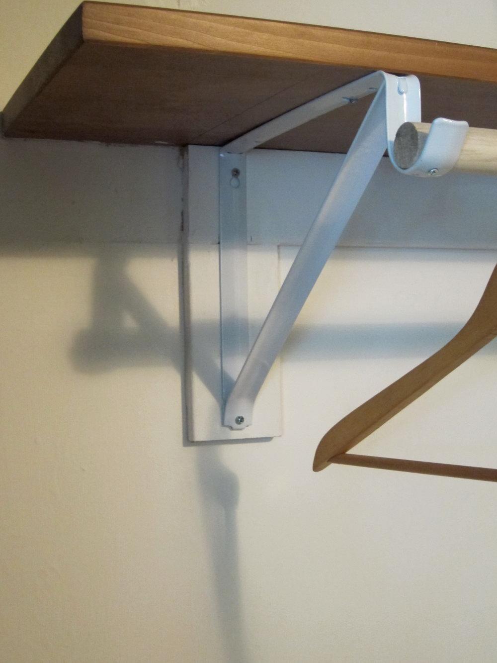 Decorative Closet Rod Bracket