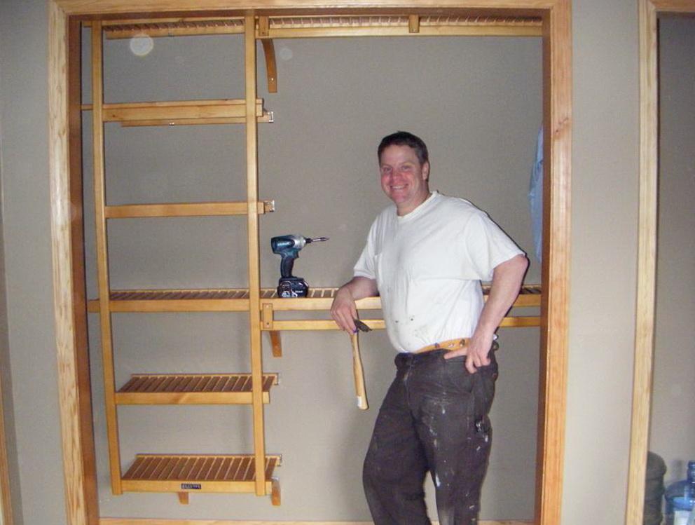 Diy Closet Shelving Systems