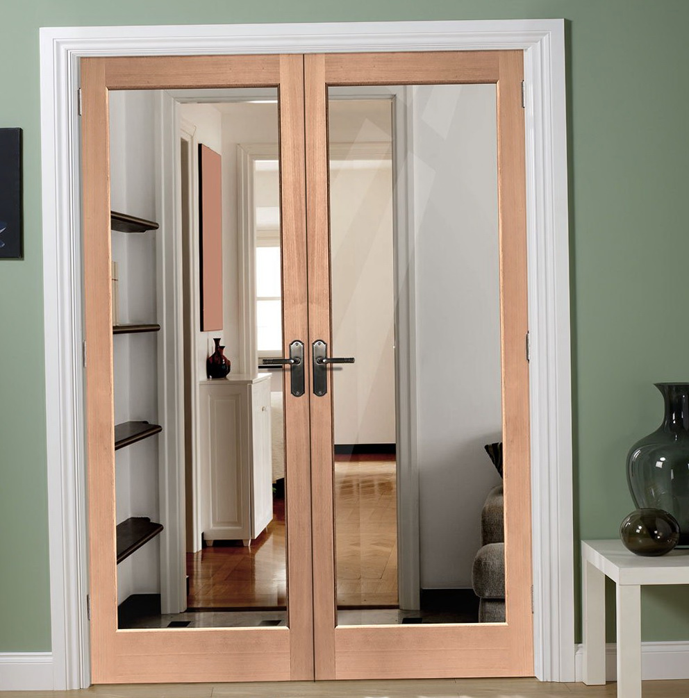 Double French Closet Doors