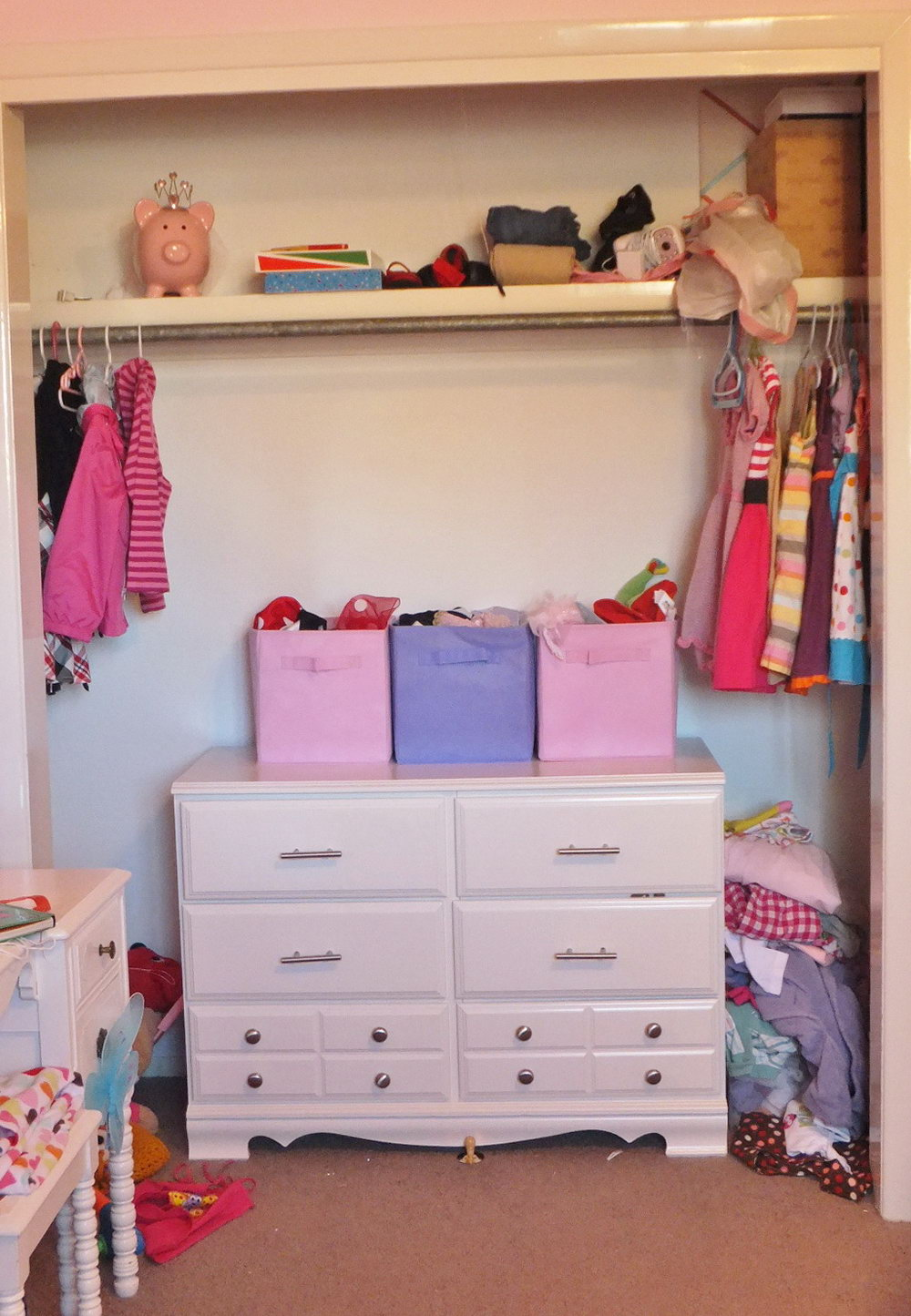 Dress Up Closet Out Of Dresser