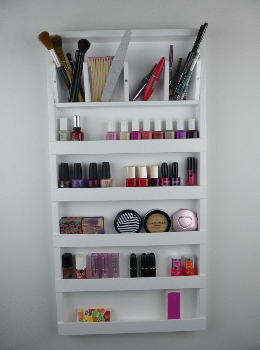 Makeup Organizer For Bathroom