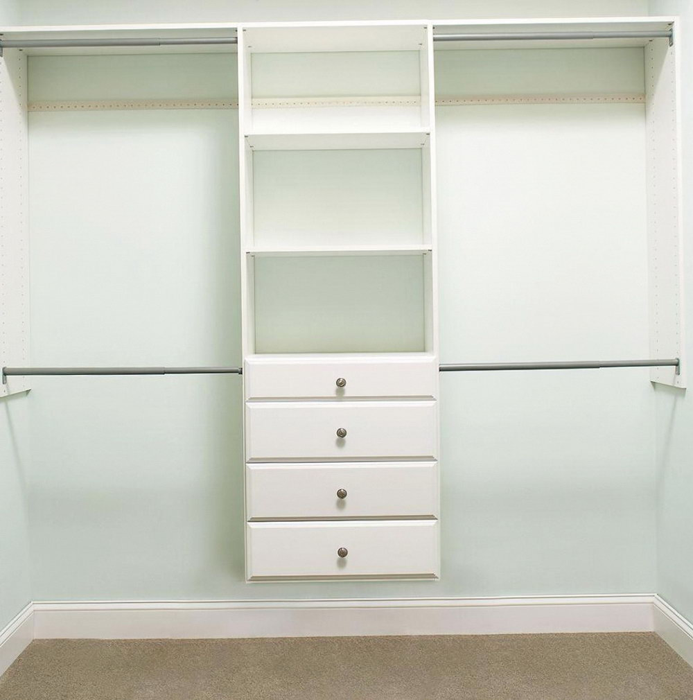 Martha Stewart Closet White