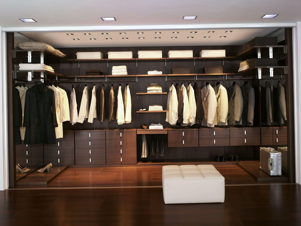 Modern Walk In Closet Designs