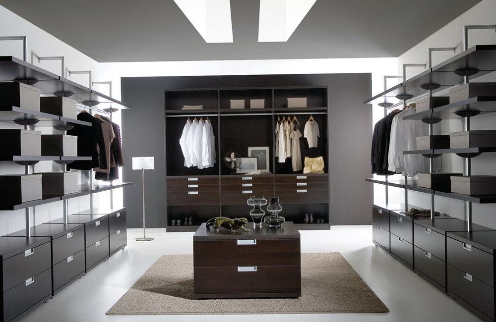 Modern Walk In Closets For Men