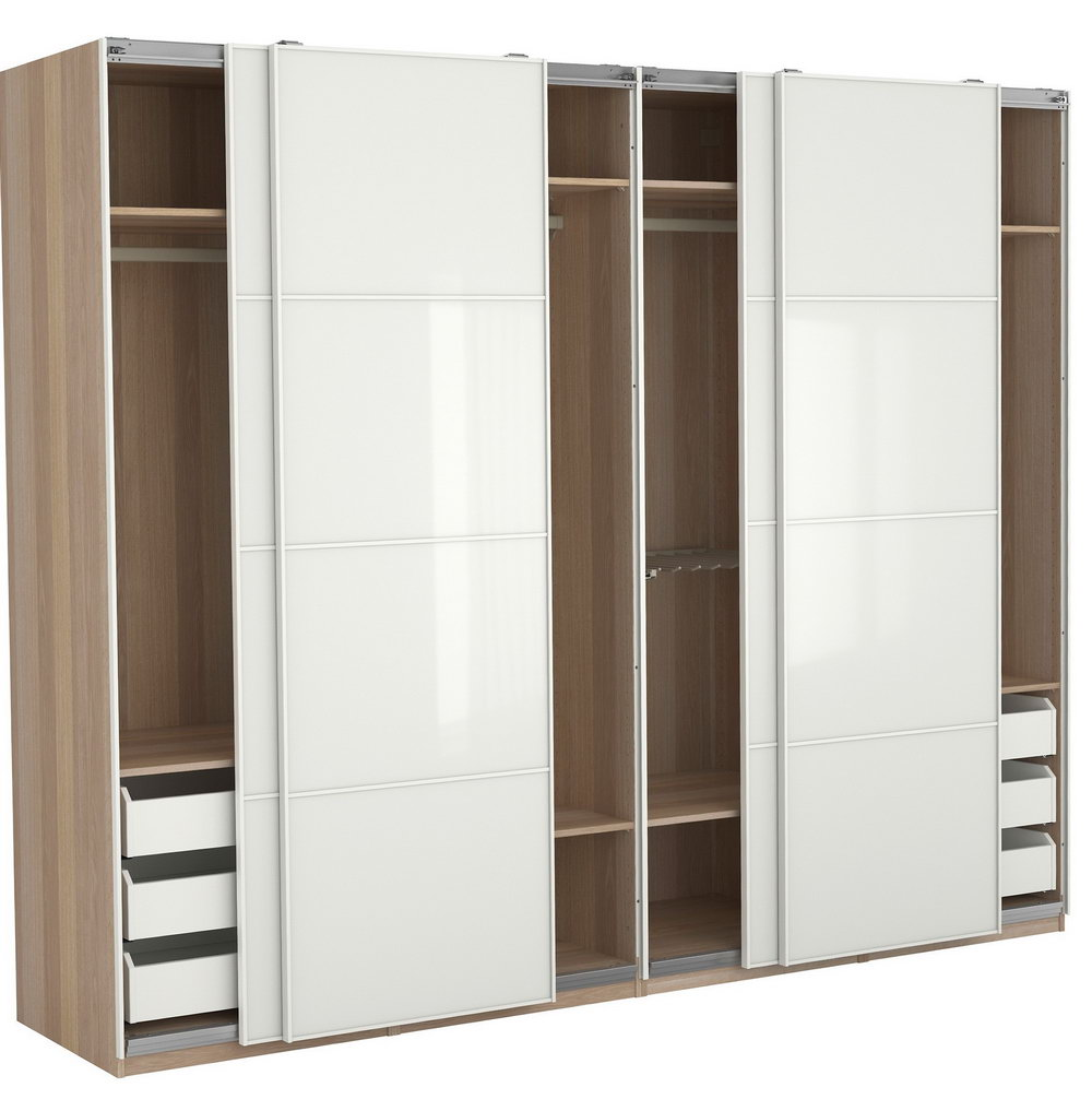Painted Louvered Closet Doors