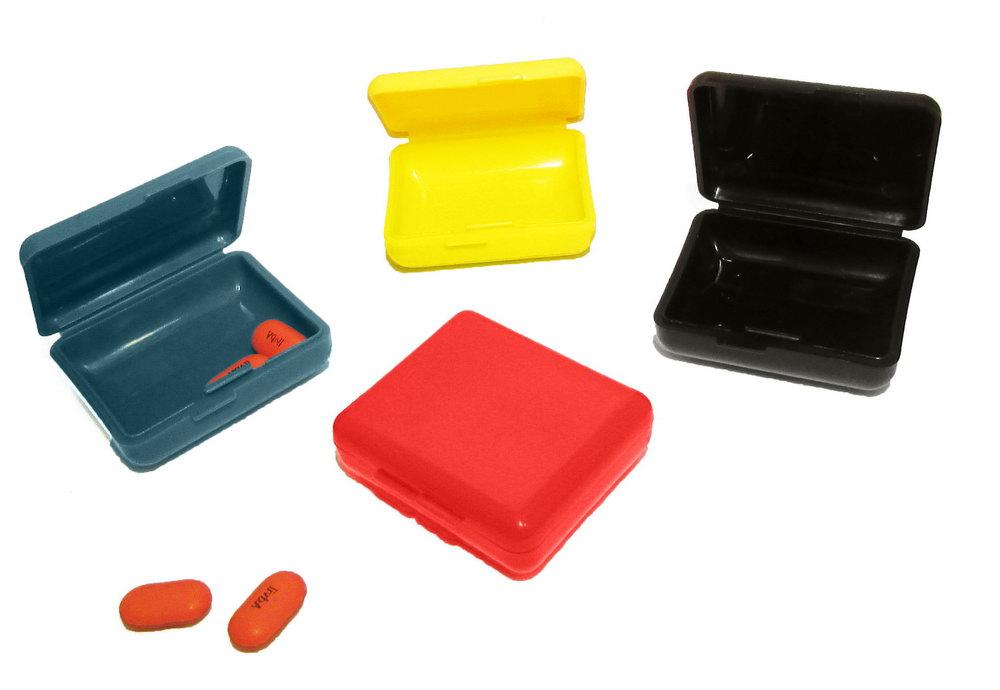 Pill Box Weekly Organizer