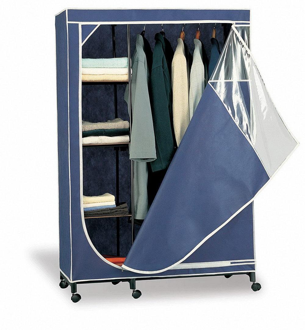 Portable Wardrobe Closet Organizer