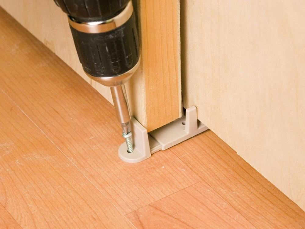 Sliding Closet Door Bottom Track Hardware