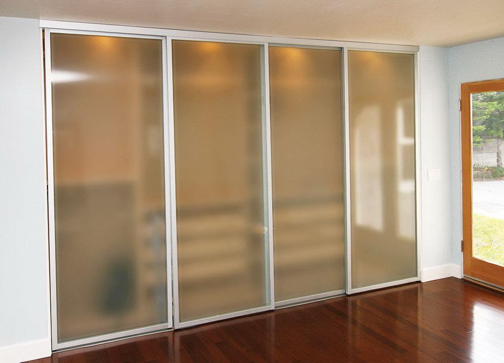 Sliding Glass Closet Doors For Bedrooms