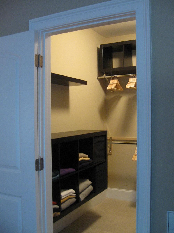 Small Walk In Closet Ideas Diy