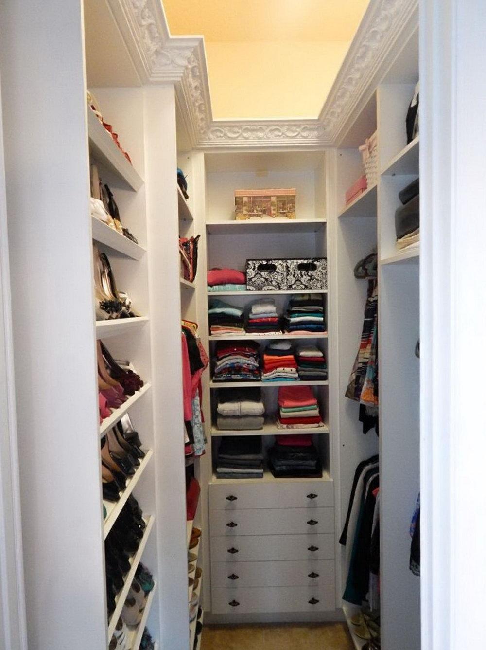Small Walk In Closet Ideas For Women