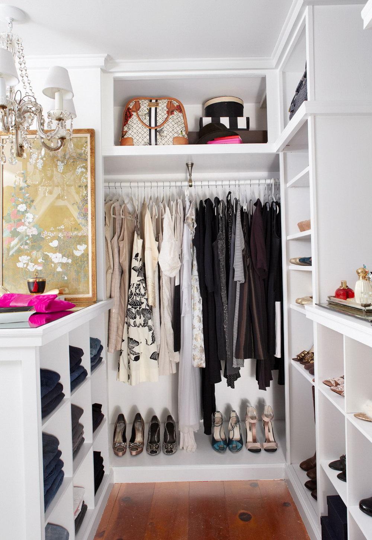 Small Walk In Closet Systems