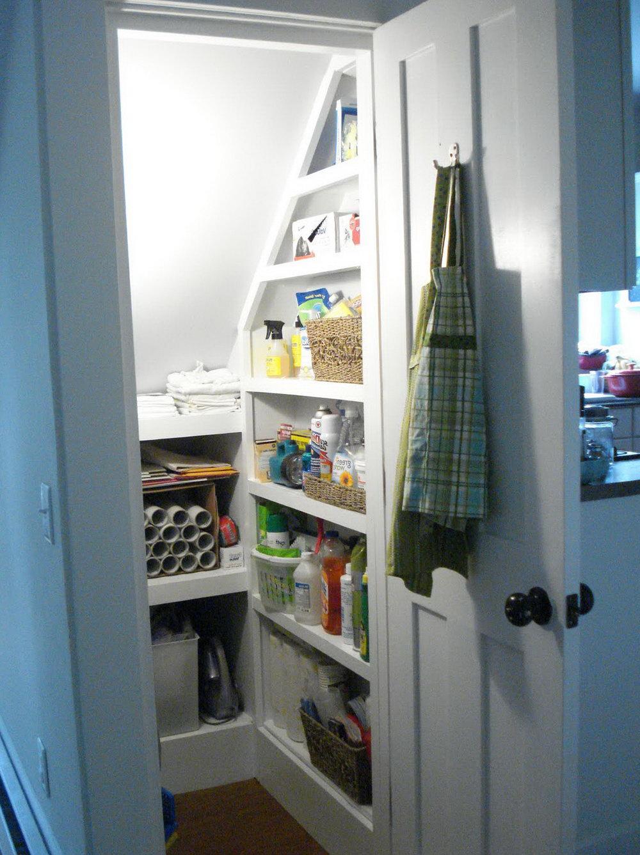 Under Stairs Closet Shelving Ideas